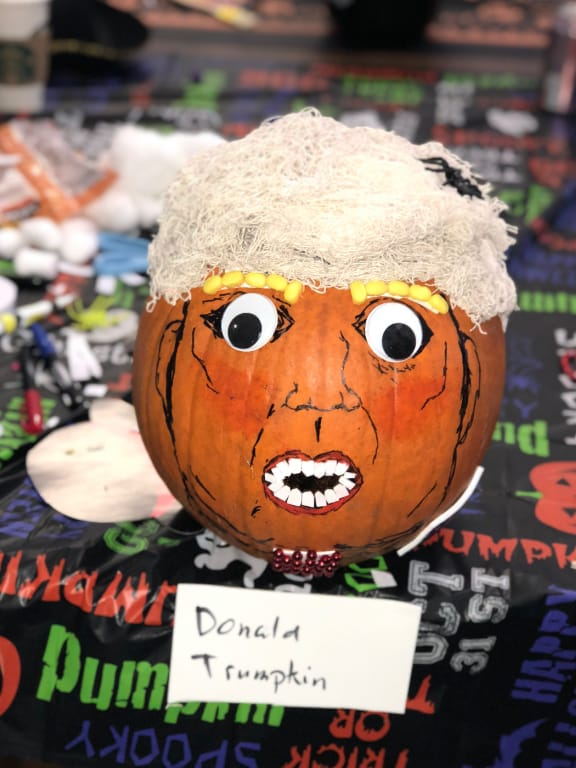 Airship Pumpkin Contest Winner - Donald Trumpkin
