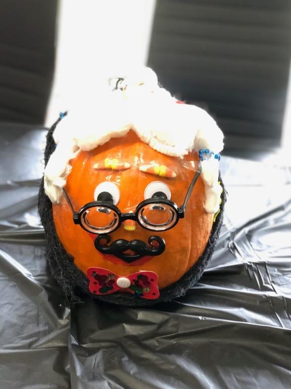 Airship Pumpkin Contest - Winner of Most Hipster Pumpkin!