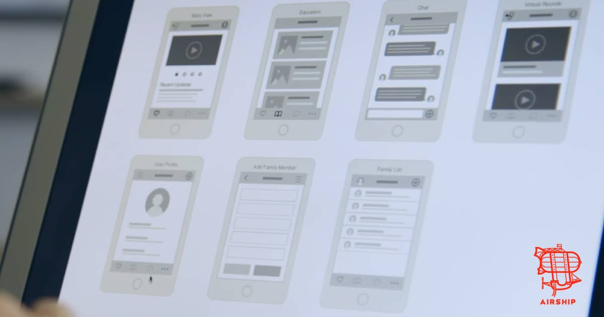 View Airship's custom mobile app and web app development work!