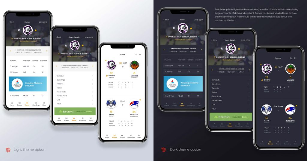 PureGame mobile app designed and developed by Airship