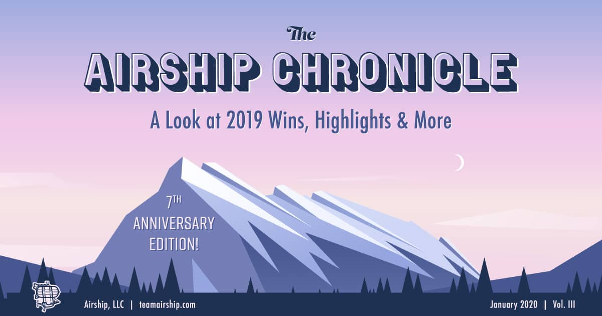 The Airship Chronicle - a look back at 2019 wins in custom software development