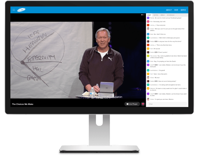 Church Online by Life.Church: One Airship client example of companies using technology to pivot during COVID-19